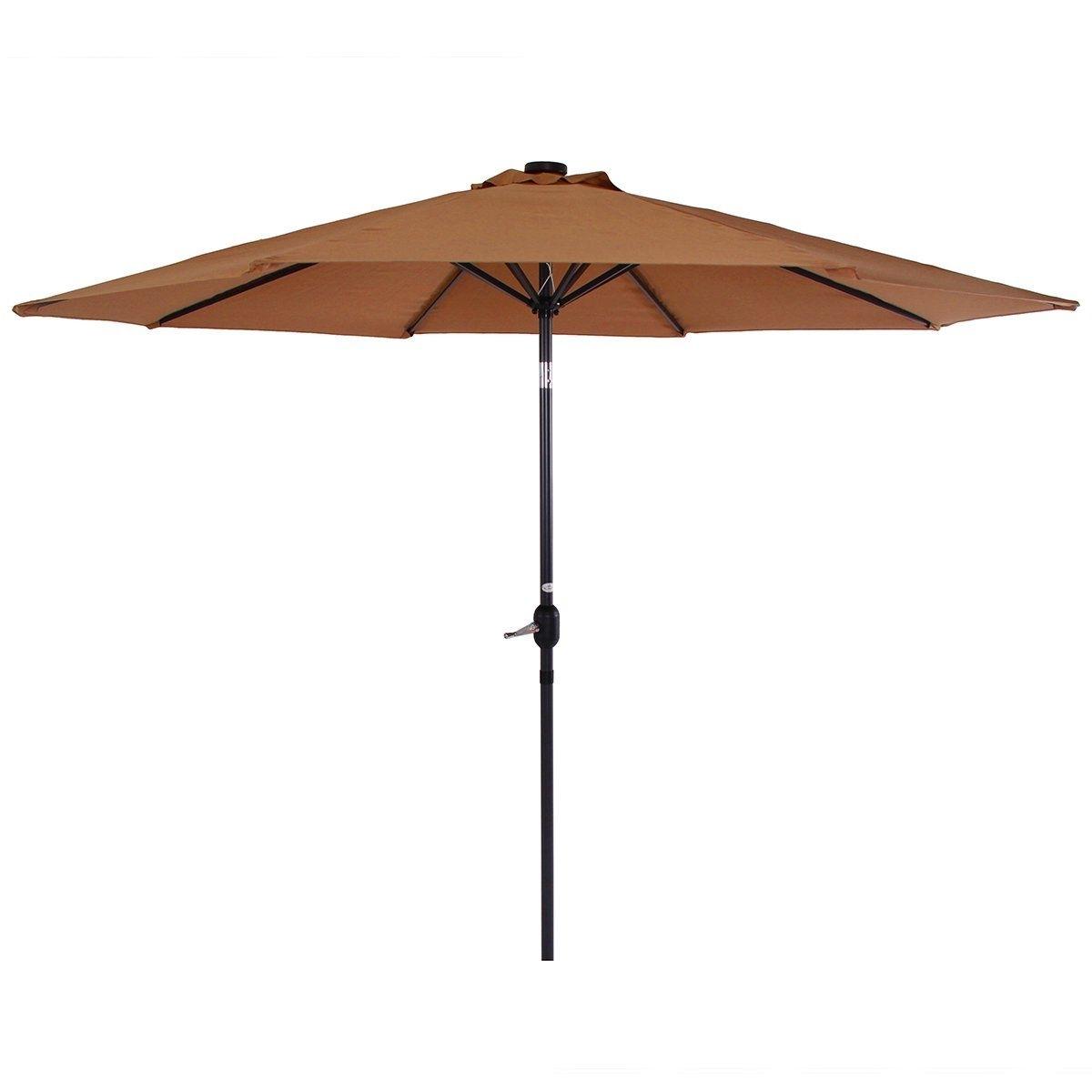 Phi Villa 9 Ft Patio Umbrella Premium Deluxe Outdoor Umbrella With Within 2018 9 Ft Patio Umbrellas (View 18 of 20)