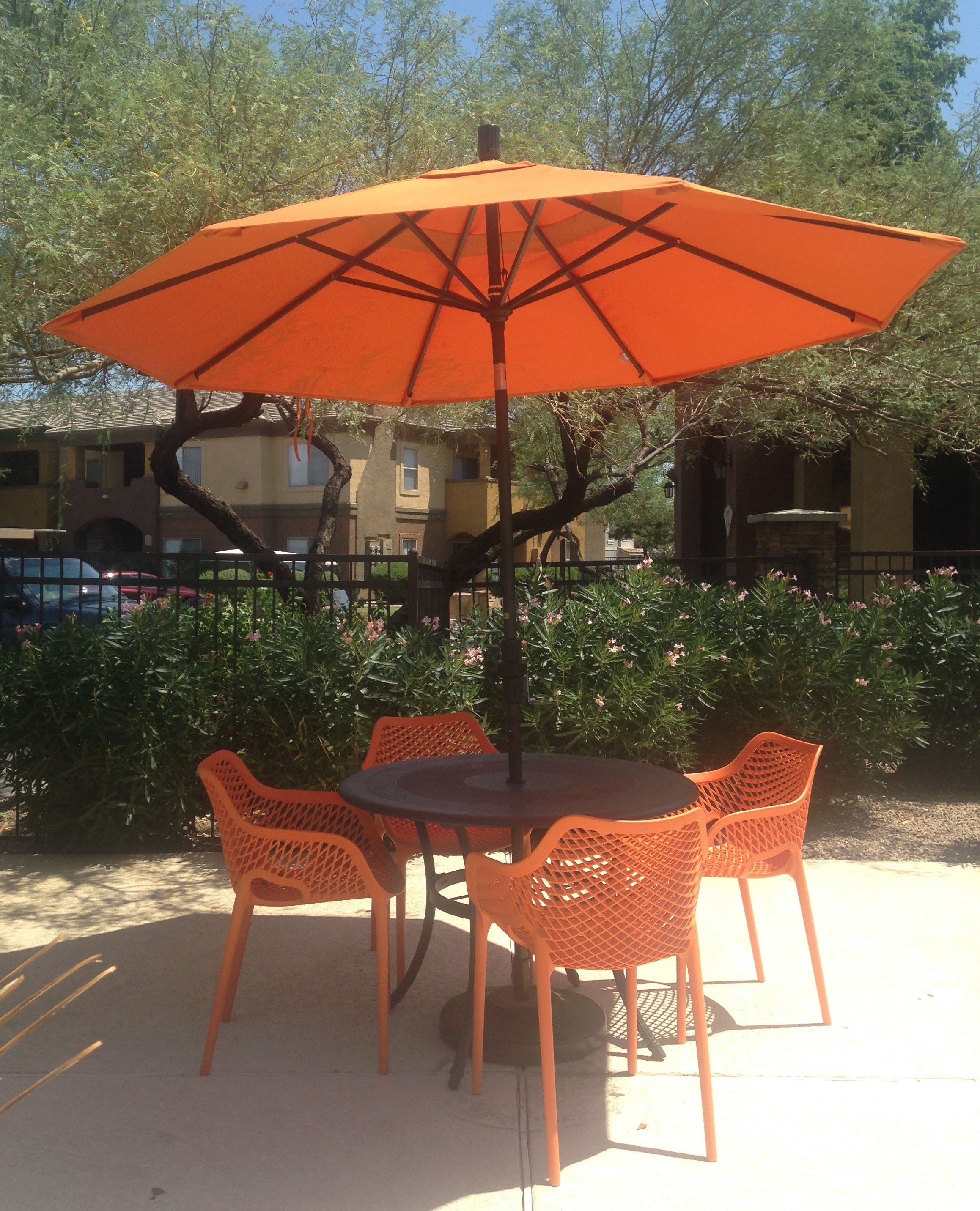 Photo Of Target Patio Umbrella Exterior Orange Target Patio Regarding Preferred Target Patio Umbrellas (View 13 of 20)