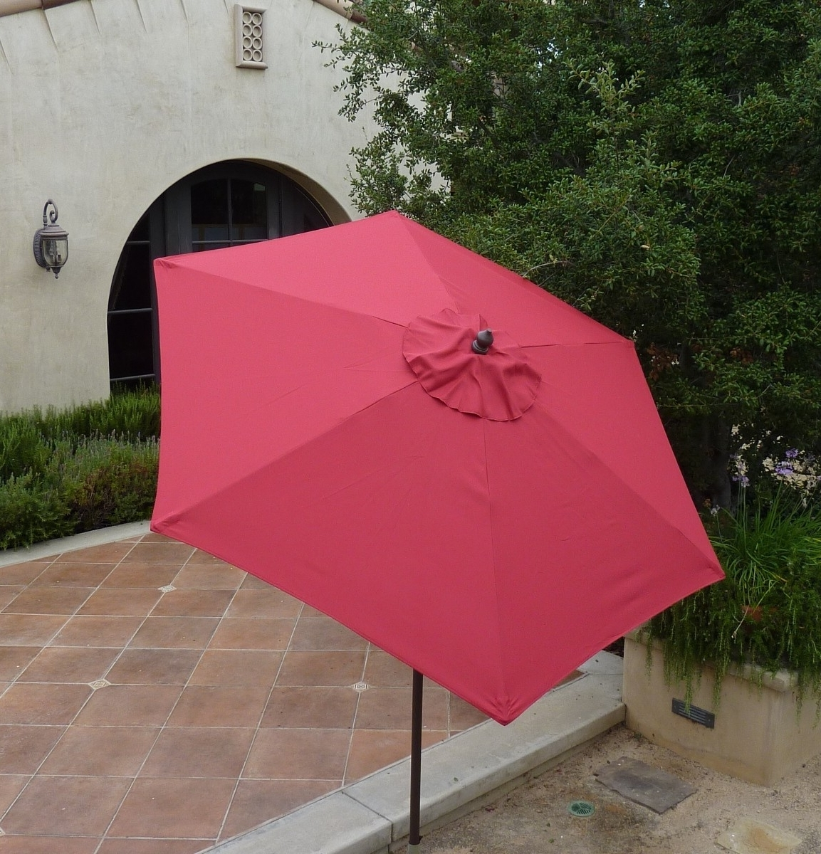 Pink Patio Umbrellas With Regard To Well Liked 54 Pink Patio Umbrella, 6 Awesome Patio Umbrellas Excellence At Home (View 11 of 20)