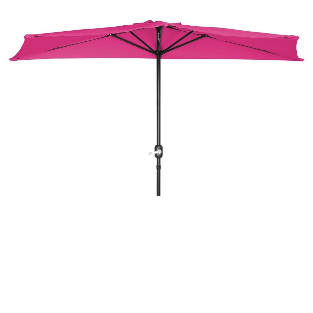 Pink Patio Umbrellas Within Newest Trademark Innovations 9 Ft (View 12 of 20)