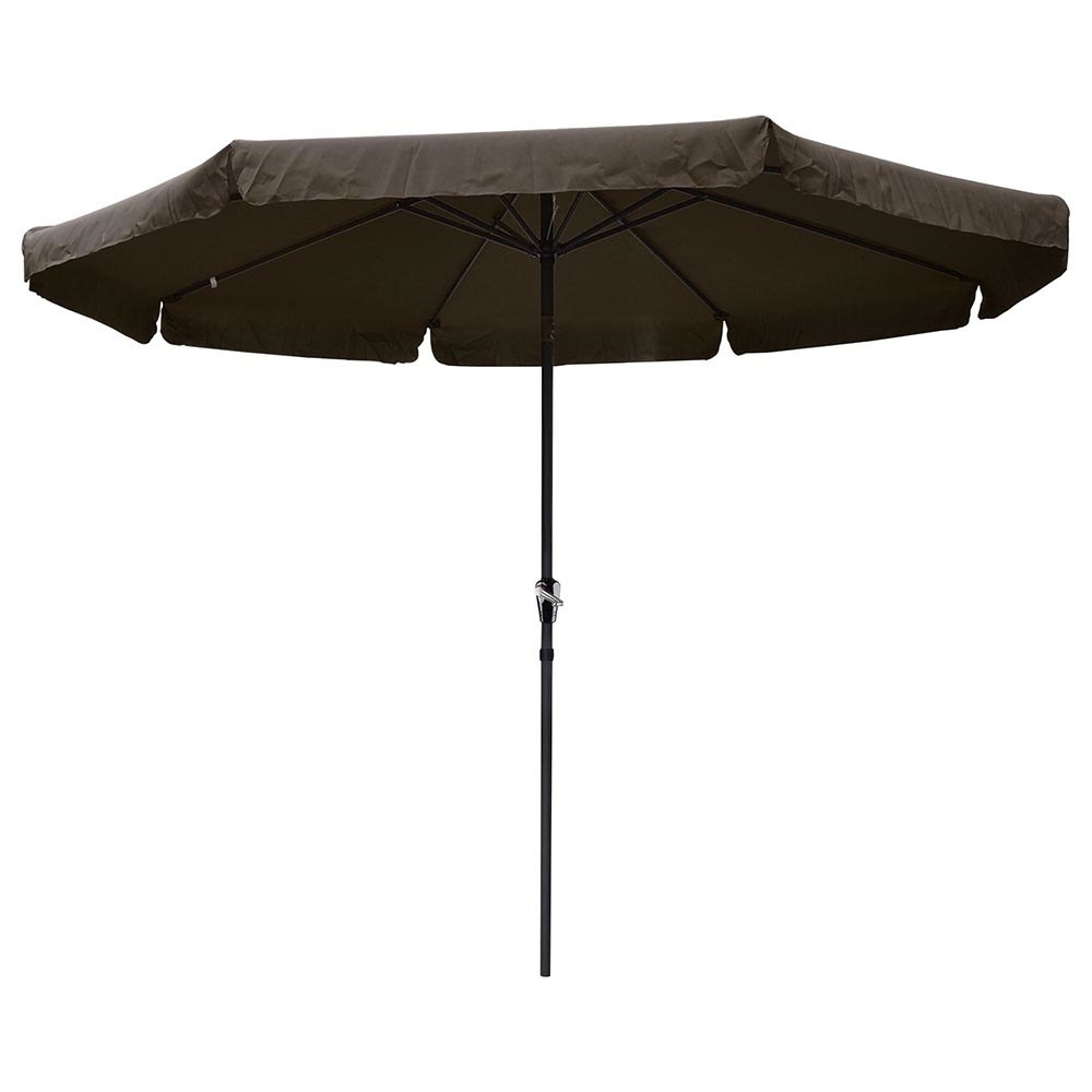 Popular Patio Umbrellas With Valance With Regard To Yescomusa: 10' Aluminum Outdoor Patio Umbrella W/ Valance Crank Tilt (View 15 of 20)