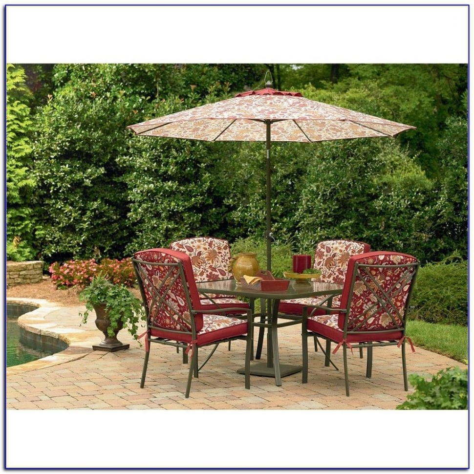 Popular Sears Outdoor Furniture Table Umbrellas With Fire Pit Chaise Lounge For Sears Patio Umbrellas (View 11 of 20)