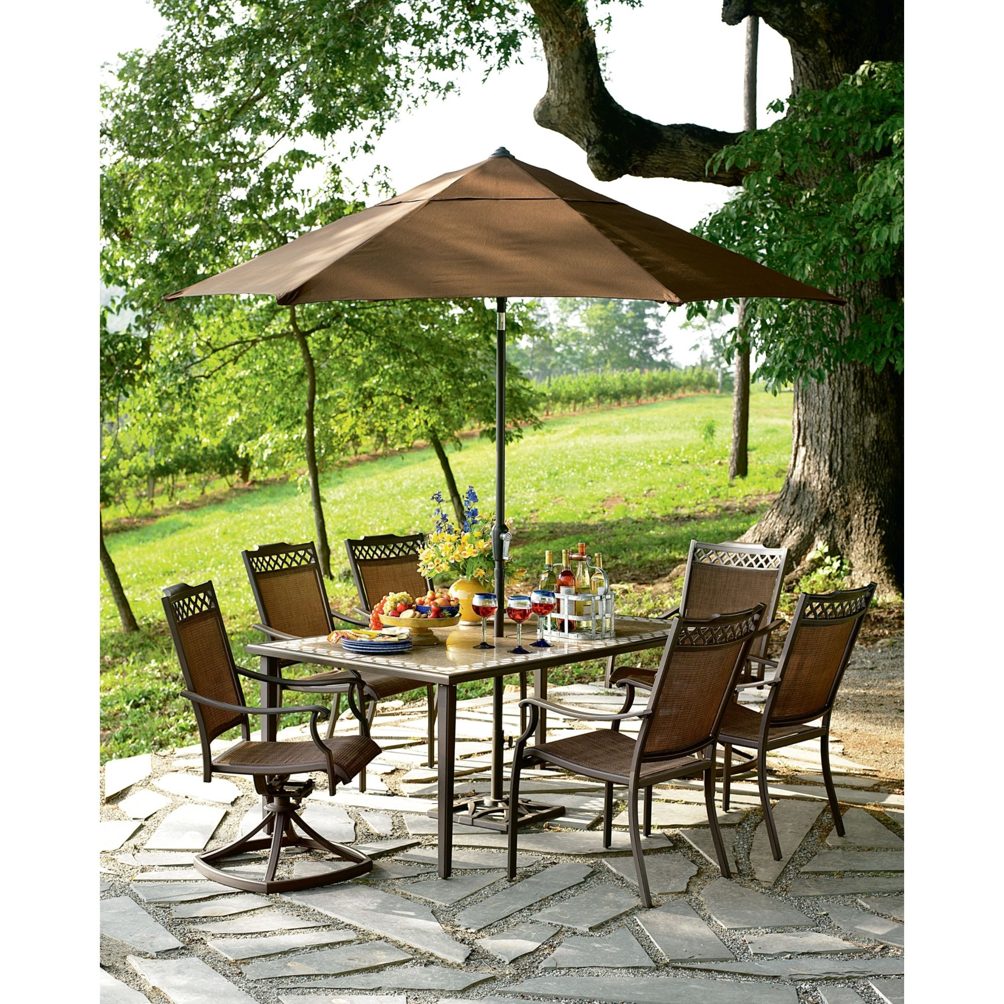 Popular Sears Patio Umbrellas Pertaining To Sears Patio Umbrella New Popular Patio Umbrella With Stand (View 11 of 20)