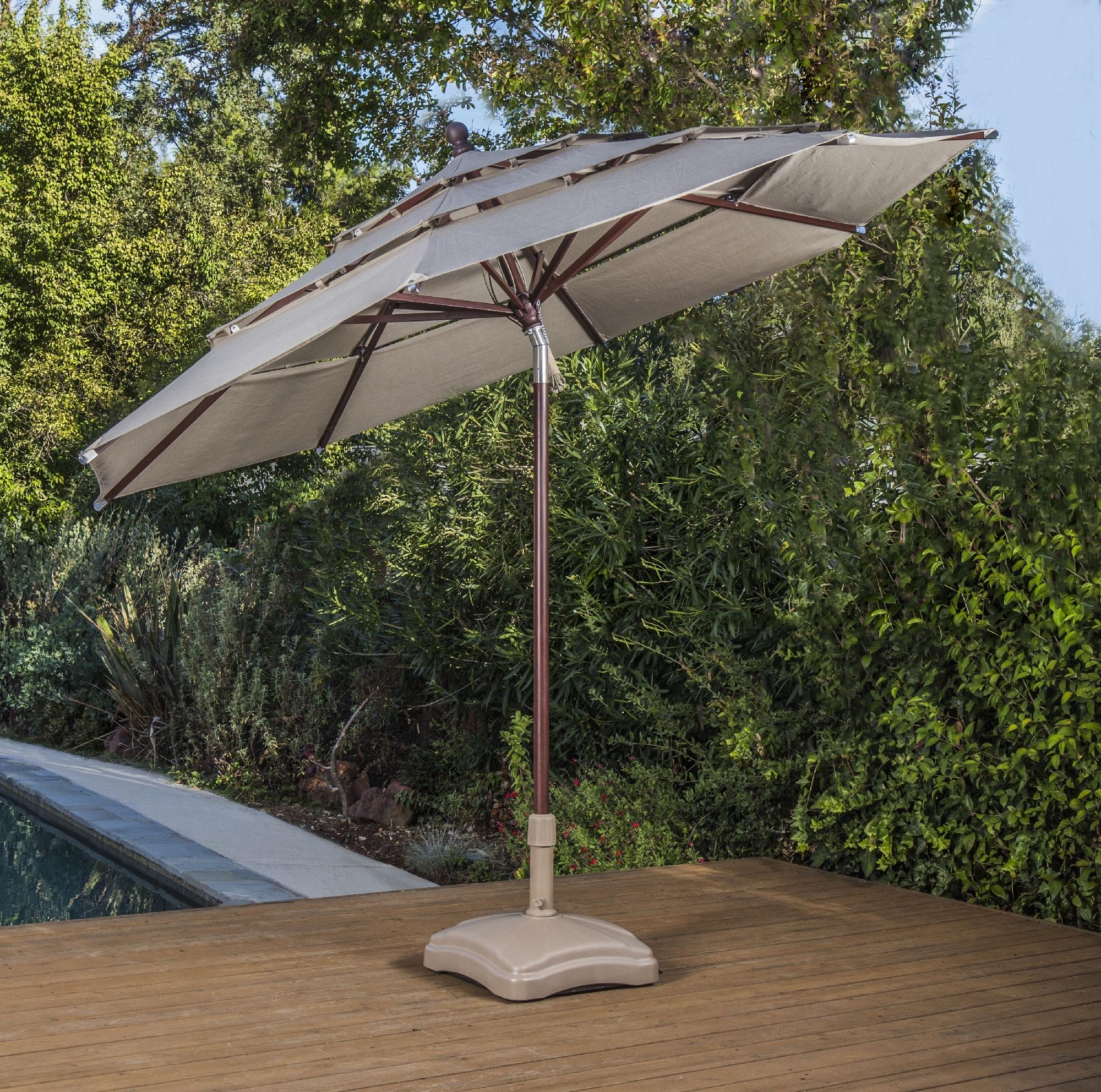 Popular Sunbrella Patio Umbrellas With Solar Lights In Proshade – Shade Umbrellas – Proshade® – Official Site (View 11 of 20)