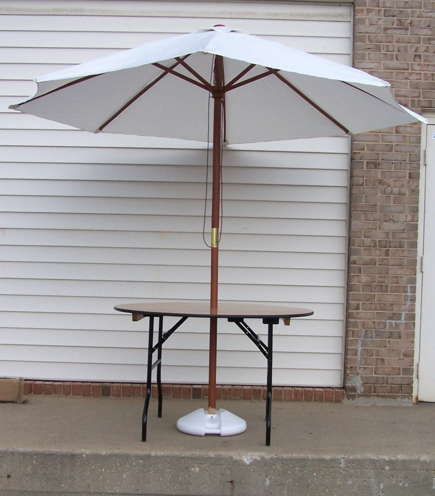 Preferred Party Table Rental, Wedding Rental Supplies, Tables For Rent, Md, Va Throughout Patio Umbrellas For Rent (View 9 of 20)