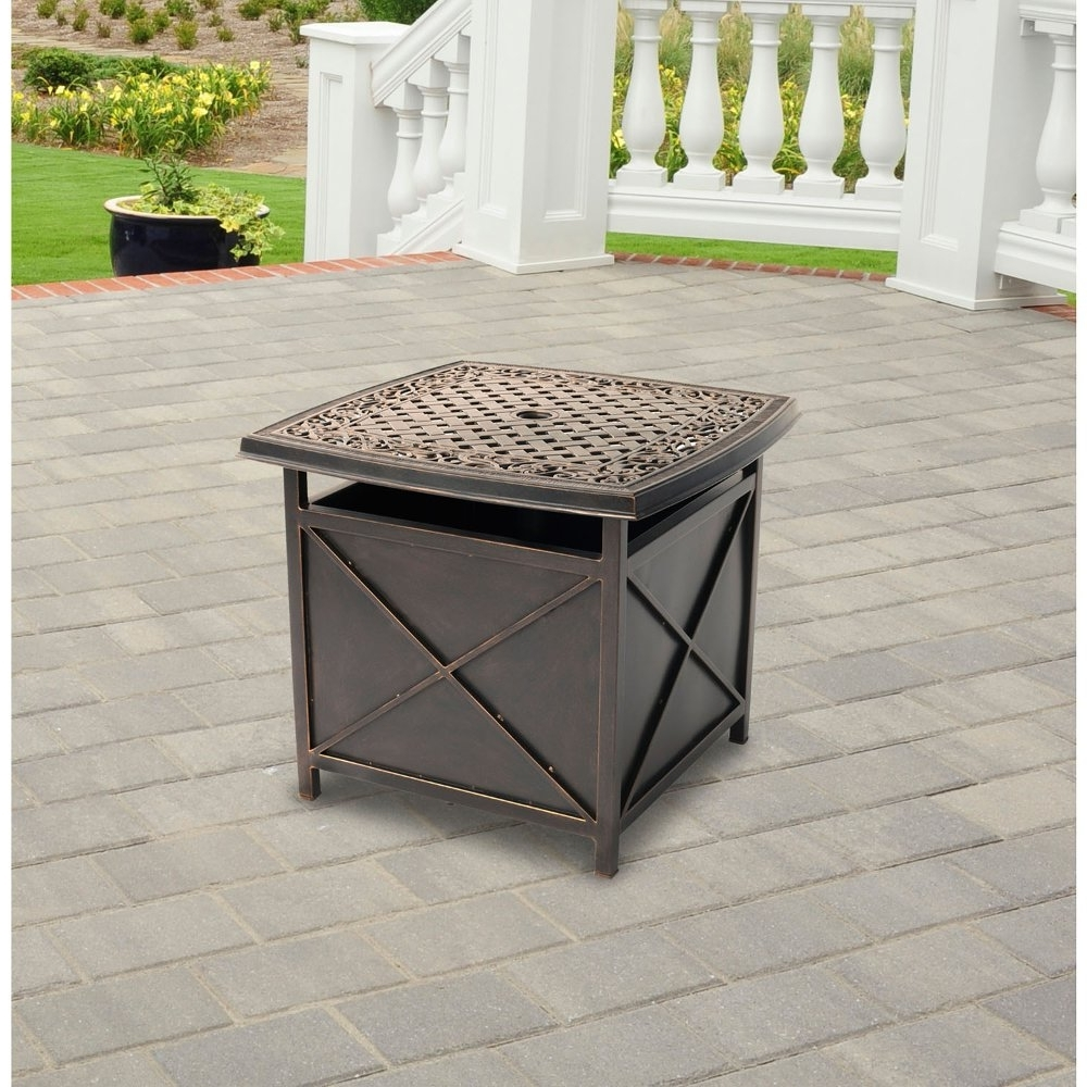 Preferred Patio Umbrella Stand Side Tables With Patio Umbrella Stand Side Table – Mopeppers #b16E95Fb8Dc (View 17 of 20)
