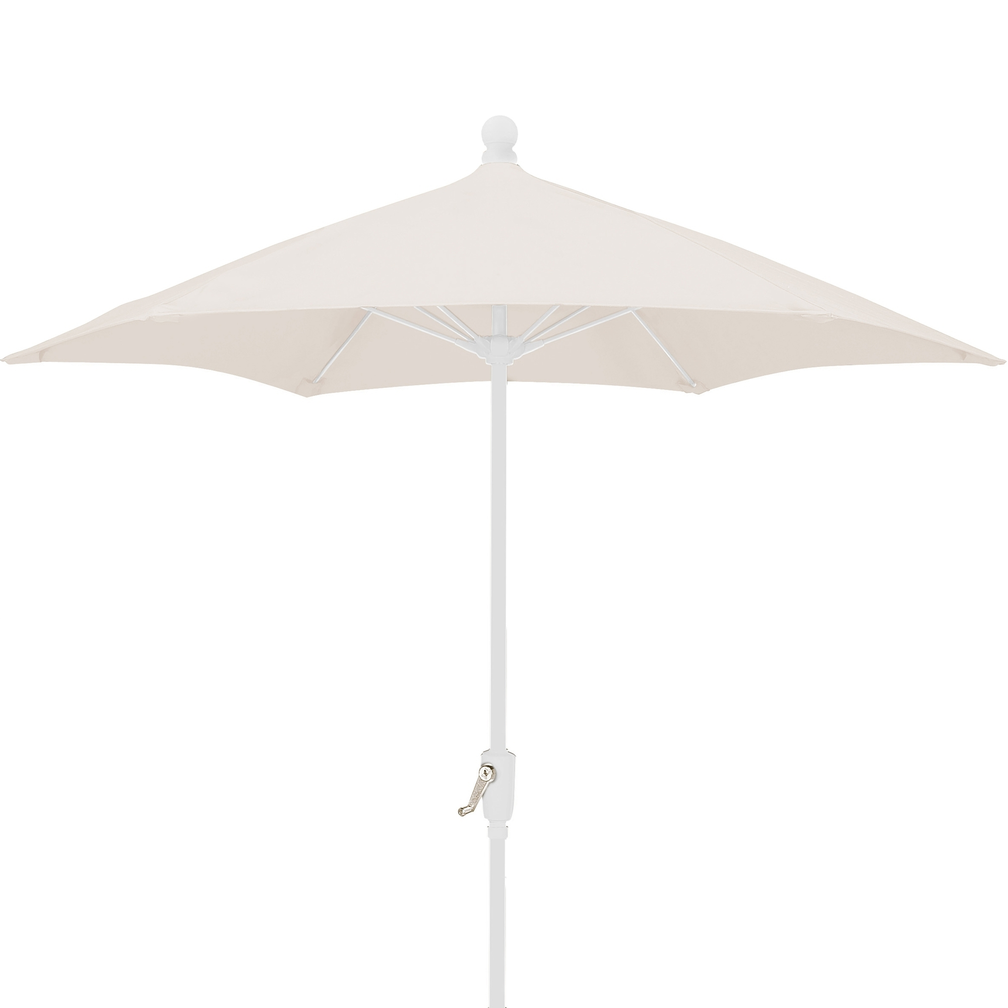 Preferred Patio Umbrellas With White Pole In (View 5 of 20)