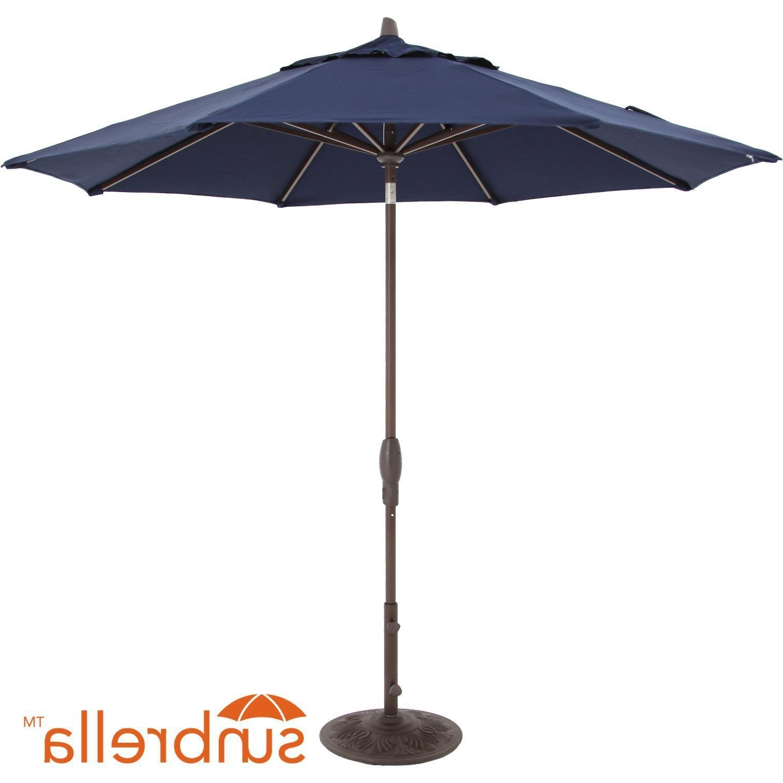 Recent 9 Ft. Octagonal Aluminum Auto Tilt Patio Umbrella W/ Crank Lift & 50 Regarding Tilting Patio Umbrellas (Gallery 17 of 20)