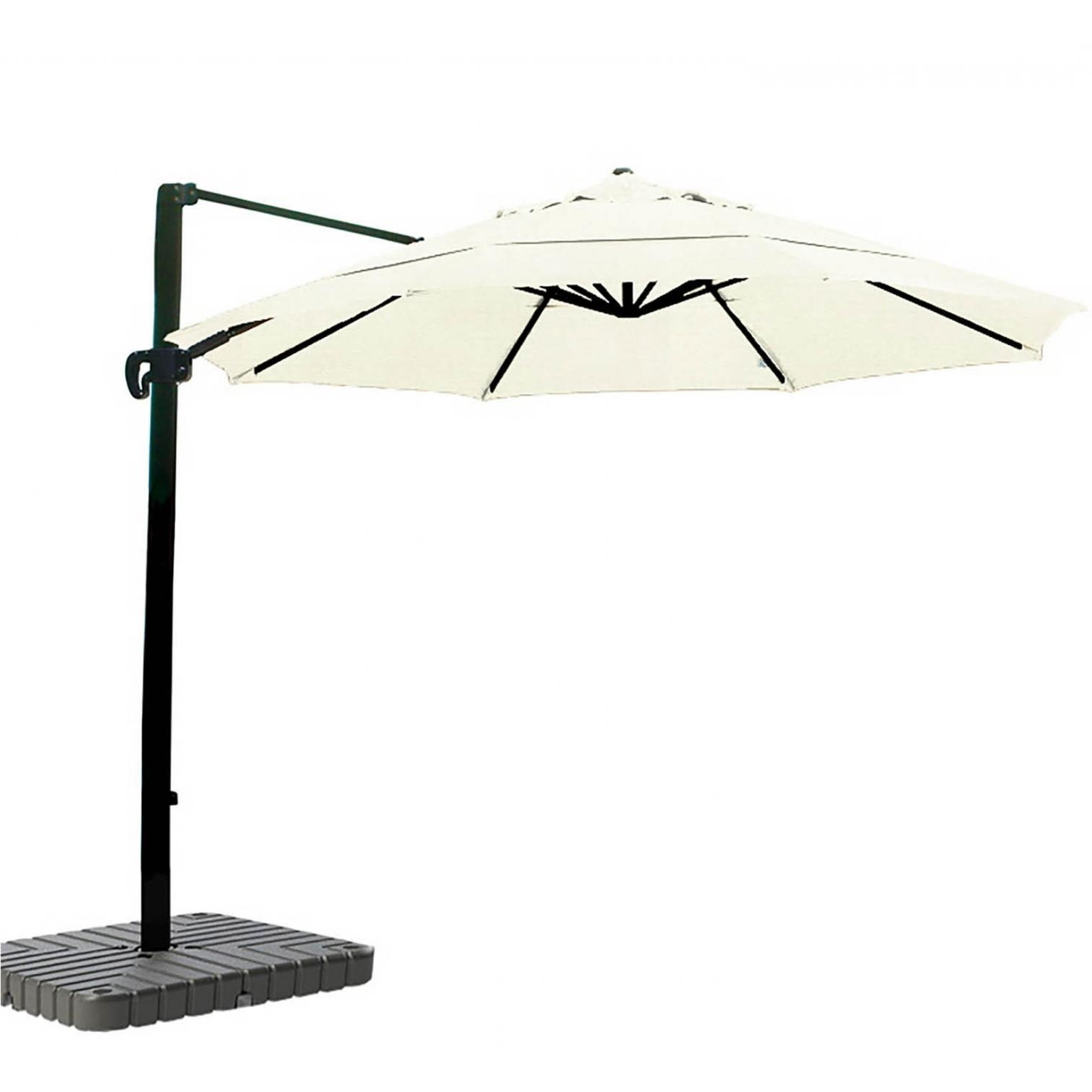 Recent California Umbrella 11 Ft Octagonal Aluminum Multi Position Tilt Intended For 11 Ft (View 14 of 20)