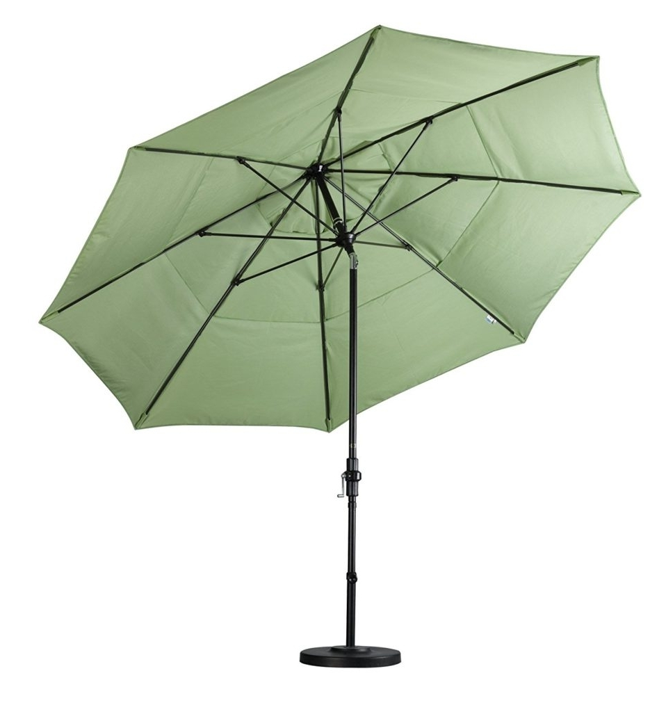 Recent Double Vented Patio Umbrella Reviews – Outsidemodern With Vented Patio Umbrellas (View 13 of 20)