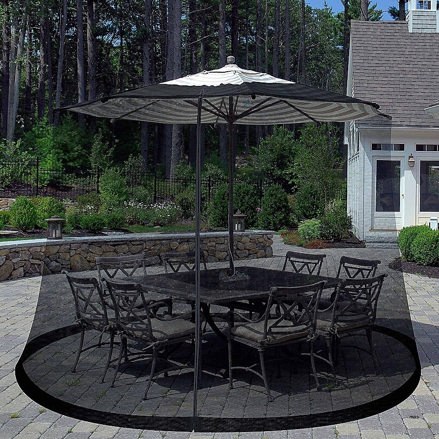 Recent Patio Umbrellas At Lowes Throughout Strobe Umbrella Light (View 20 of 20)