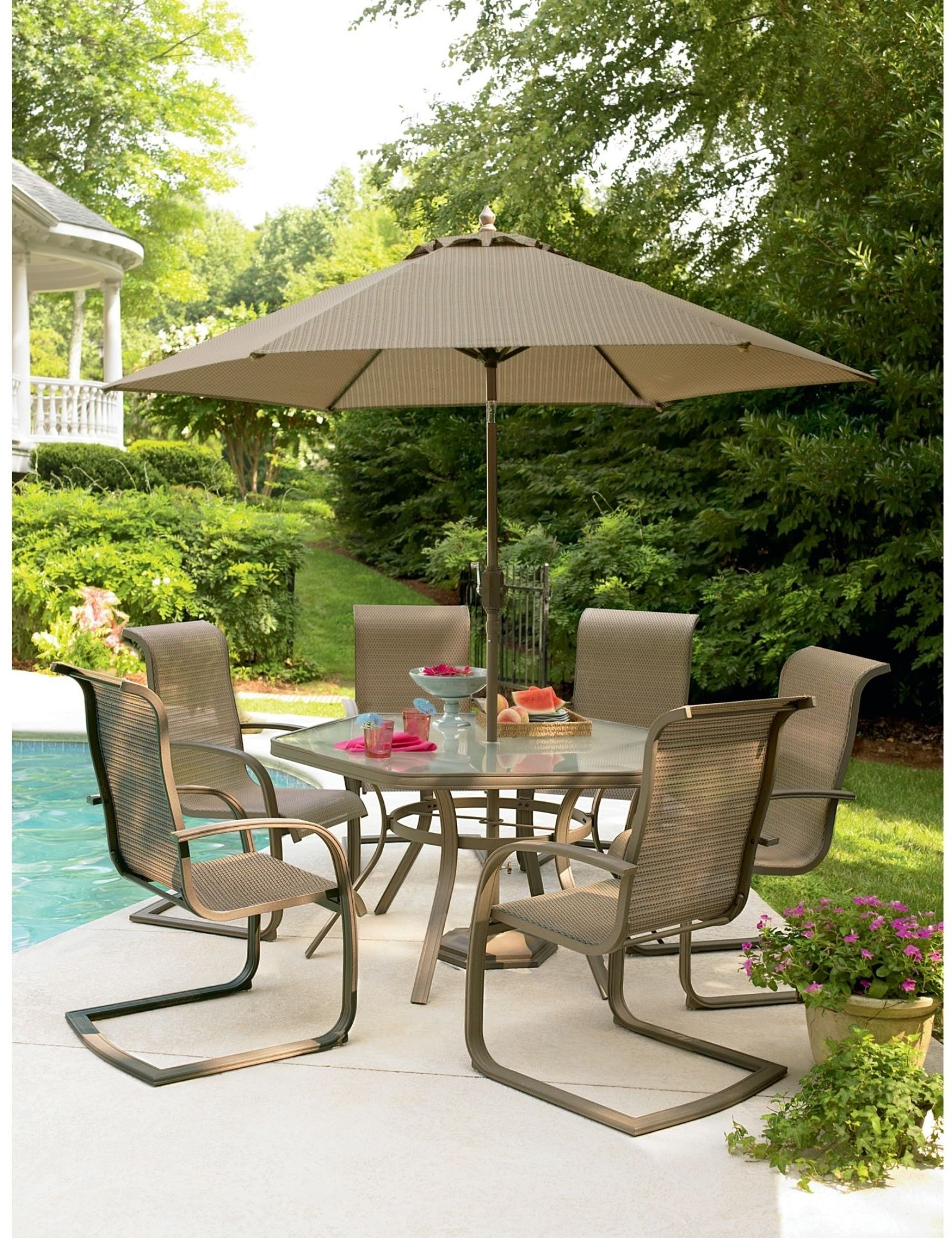 Recent Sears Outdoor Patio Furniture – Cool Modern Furniture Check More At Regarding Sears Patio Umbrellas (View 13 of 20)