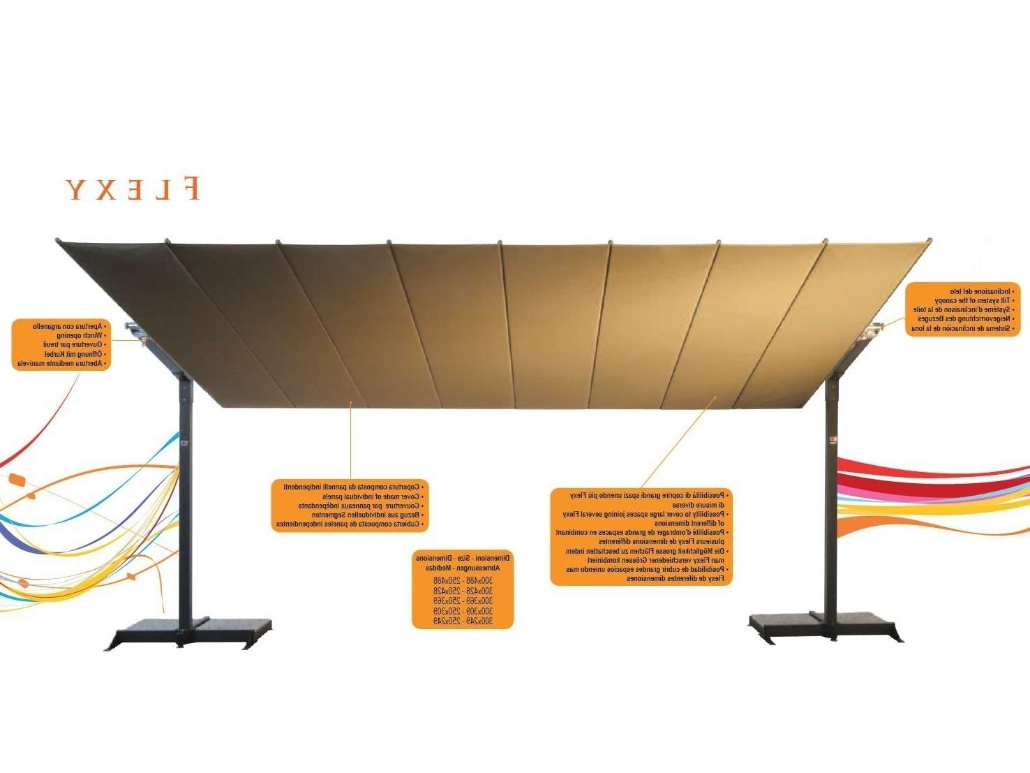 Featured Photo of Rectangular Offset Patio Umbrellas