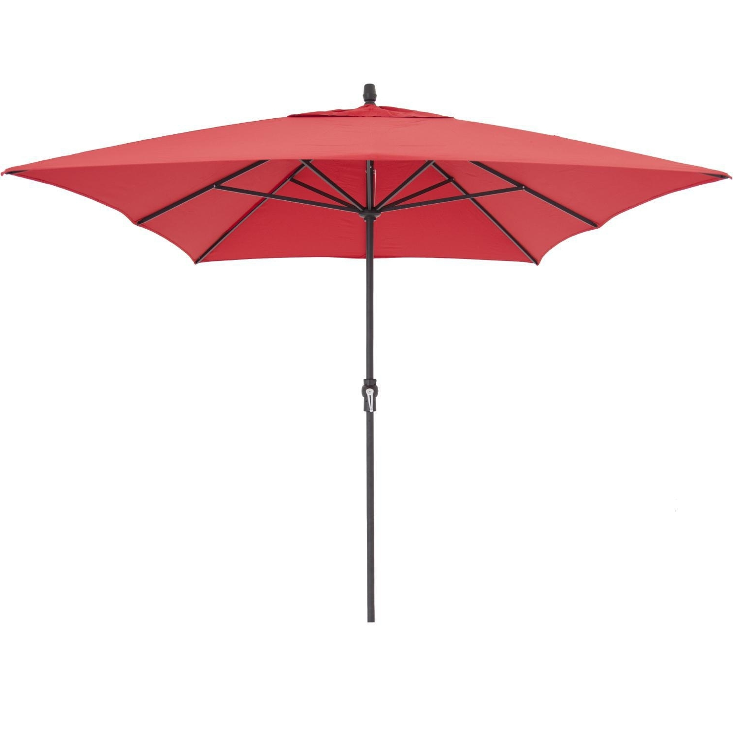 Rectangular Sunbrella Patio Umbrellas For Well Known Treasure Garden 8 Ft. X 11 Ft (View 9 of 20)