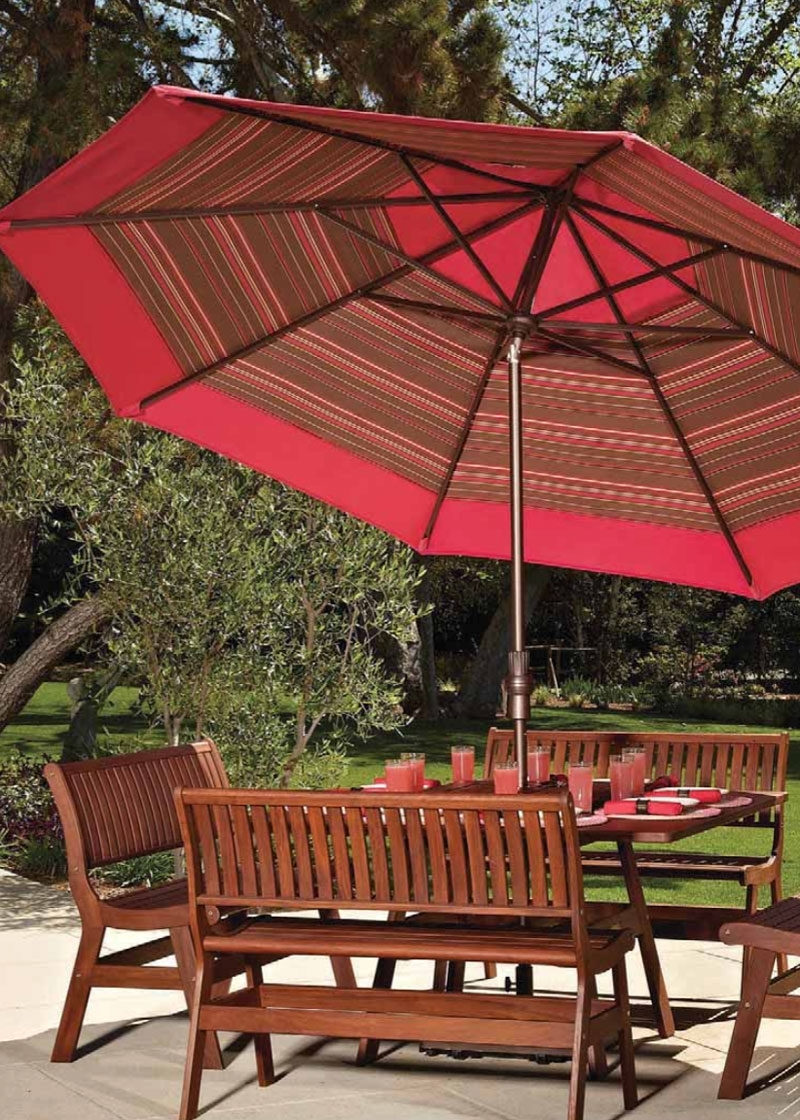Red Patio Umbrellas Pertaining To Newest Patio Umbrellas — Island Lifestyles (Gallery 19 of 20)