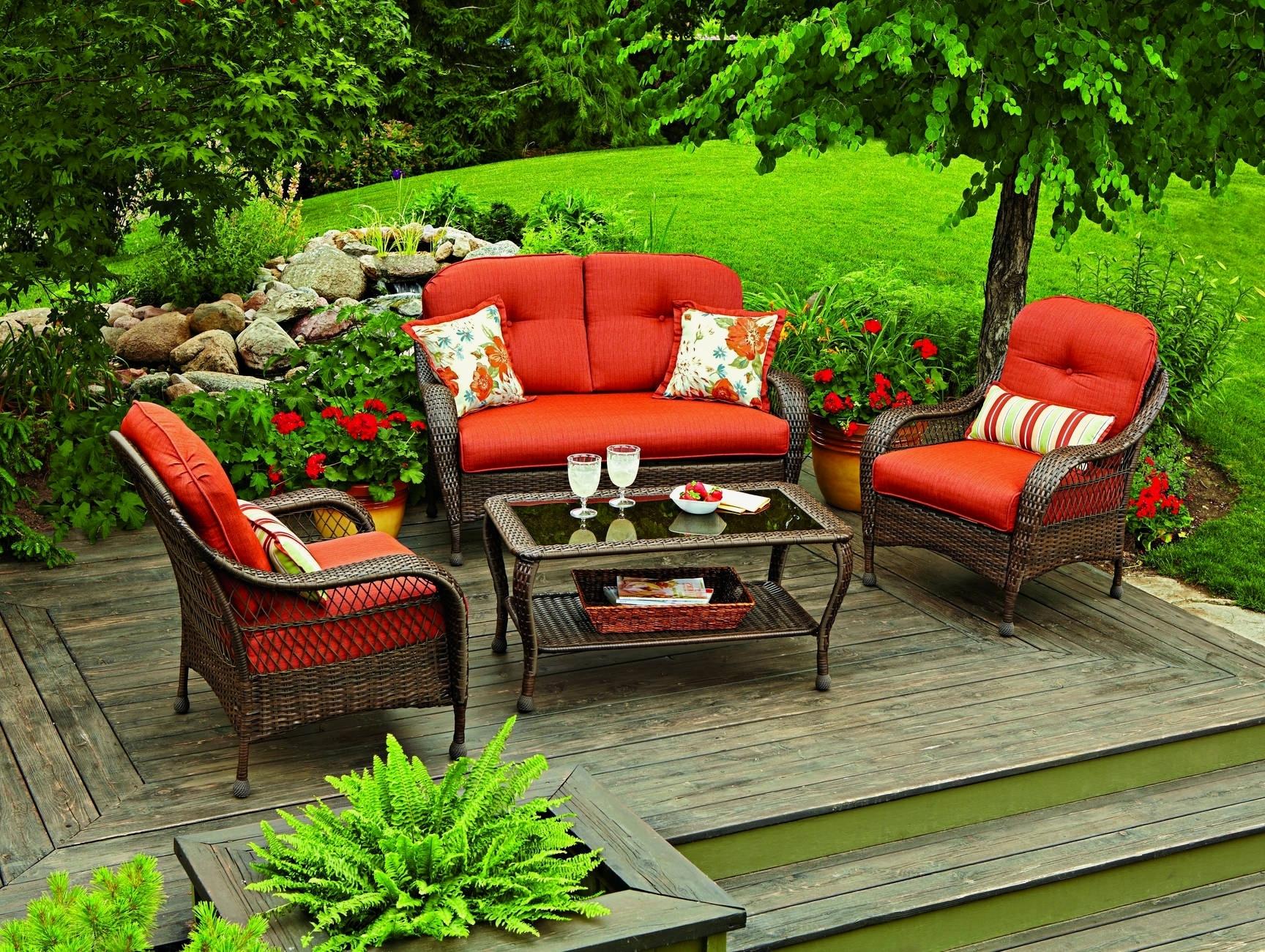 Red Sunbrella Patio Umbrellas In Well Known Sunbrella Patio Furniture Costco Unique Outdoor Chairs Costco Stock (Gallery 20 of 20)