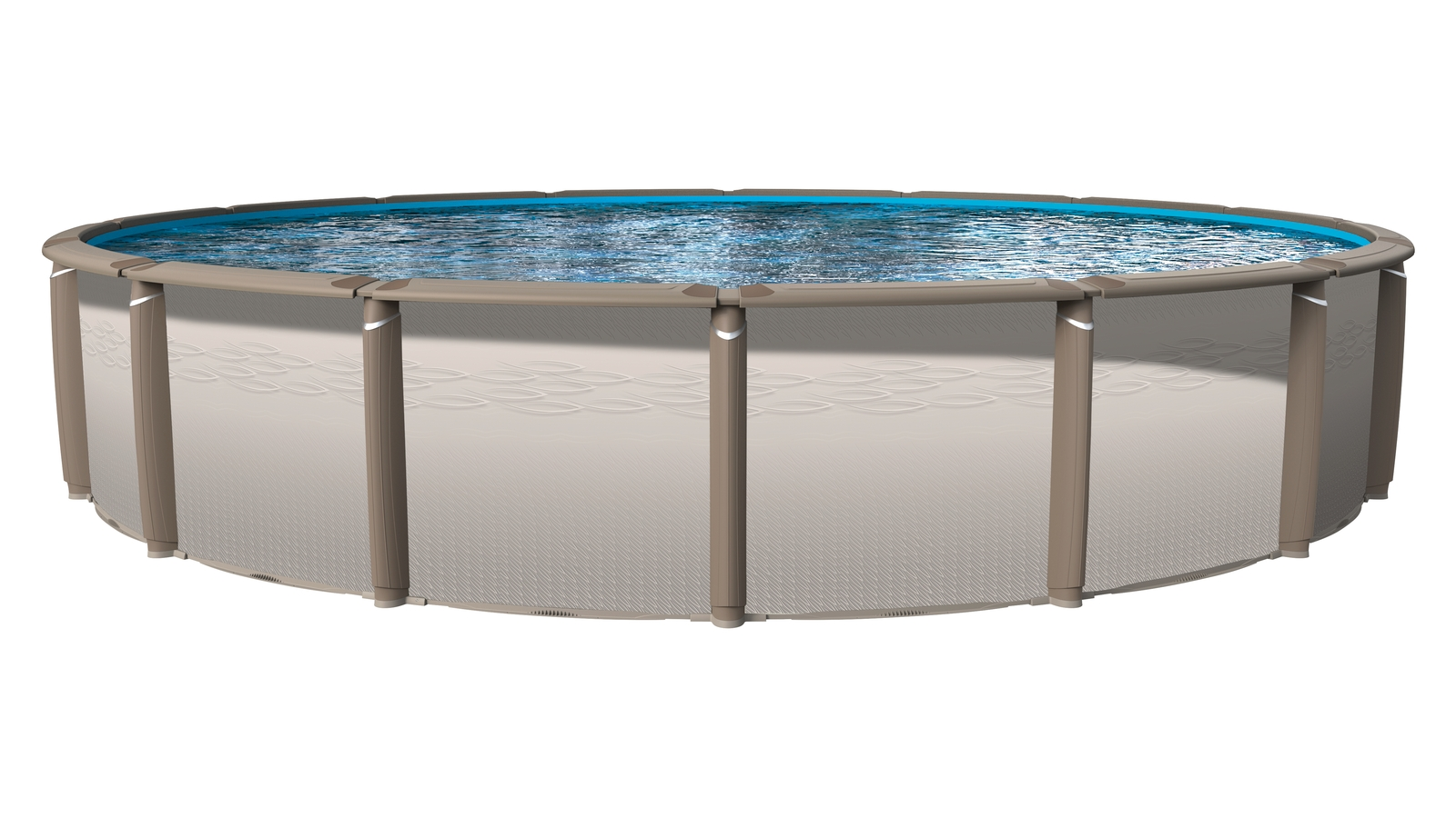 Revelation Round Above Ground Pool – Above Ground Pools – Swimming Pools Throughout Popular Krevco Patio Umbrellas (View 16 of 20)