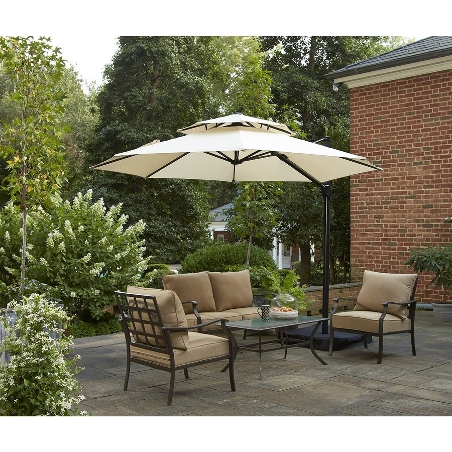 Salient Treasures Patio Umbrella Plus Good Treasure Patio Patio Amp Throughout Current Garden Treasures Patio Umbrellas (View 20 of 20)