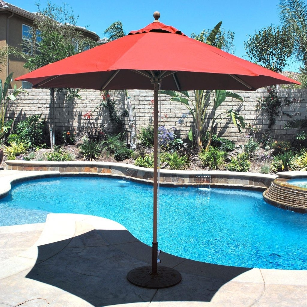 Sams Club Patio Umbrellas With Regard To Well Liked Patio Ideas ~ Large Patio Umbrella Home Depot Large Patio Umbrella (View 16 of 20)