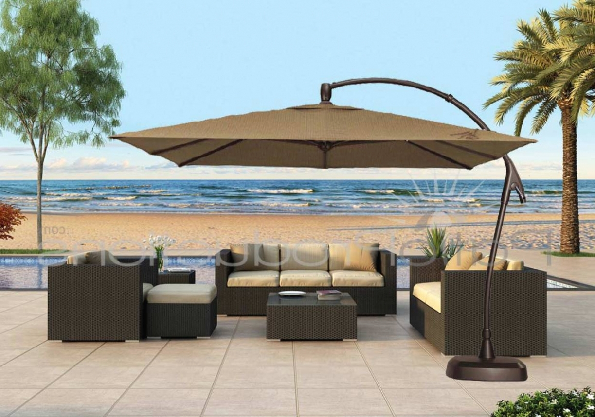 Sevenstonesinc Inside Square Cantilever Patio Umbrellas (View 11 of 20)