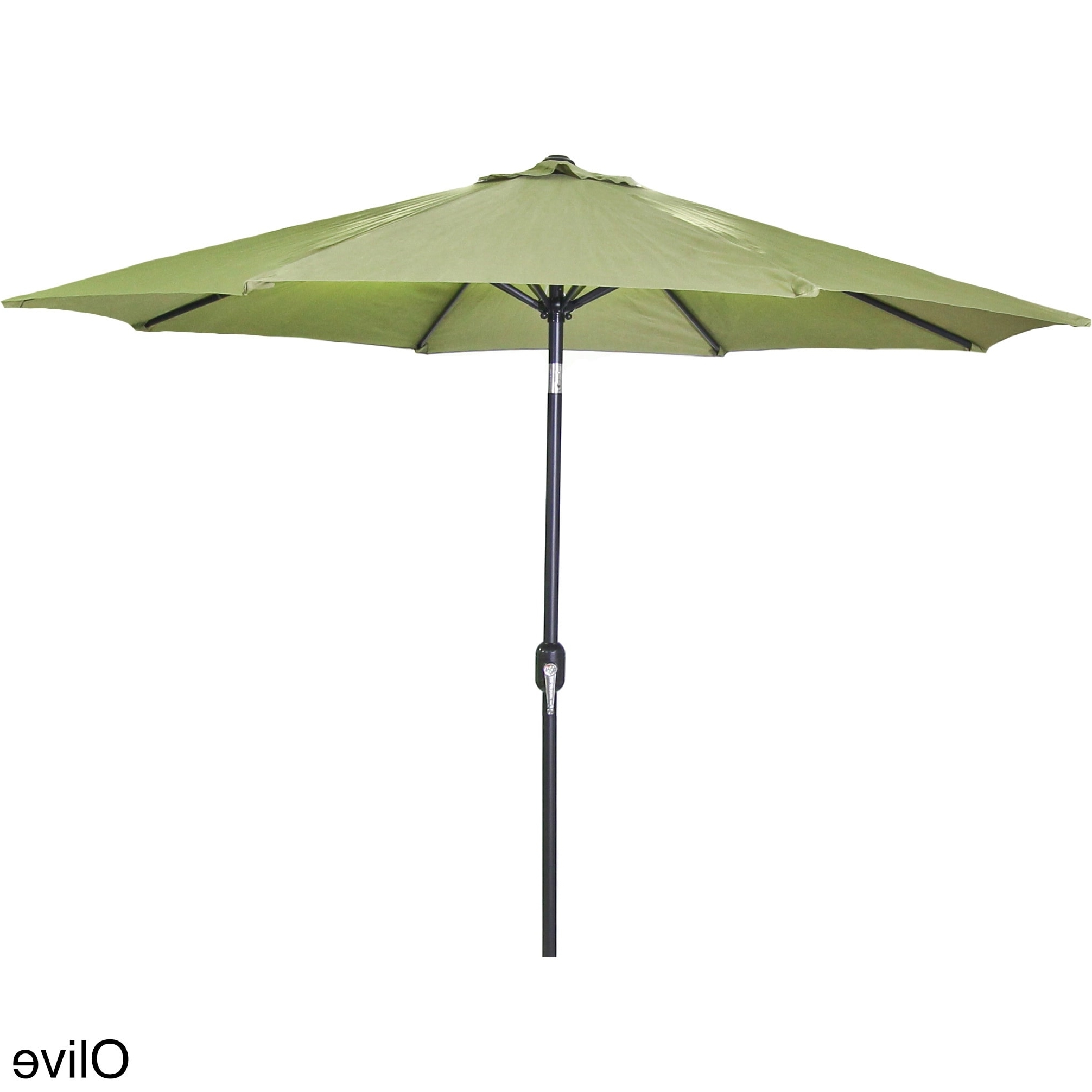 Shop Jordan Manufacturing 9 Foot Steel Market Umbrella – Free With Latest Jordan Patio Umbrellas (View 16 of 20)