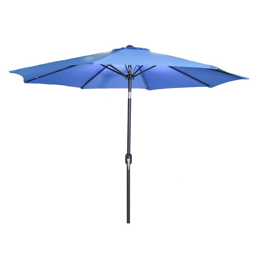 Shop Jordan Manufacturing Royal Market 9 Ft Patio Umbrella At Lowes In Most Recent Jordan Patio Umbrellas (View 17 of 20)