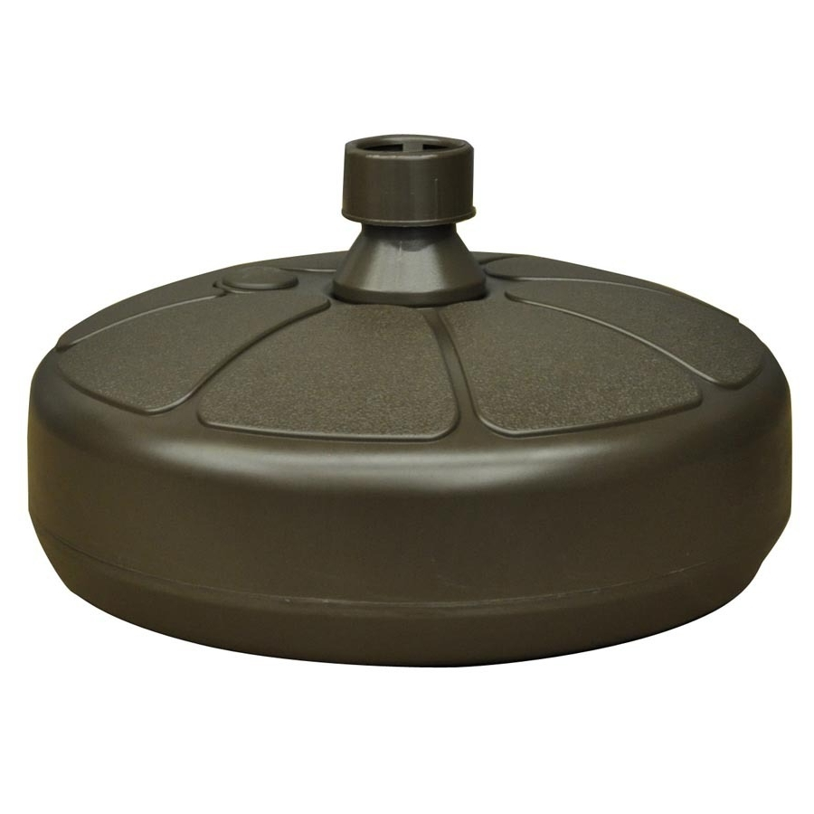 Shop Patio Umbrella Bases At Lowes Within Most Recently Released Patio Umbrella Stands With Wheels (View 17 of 20)