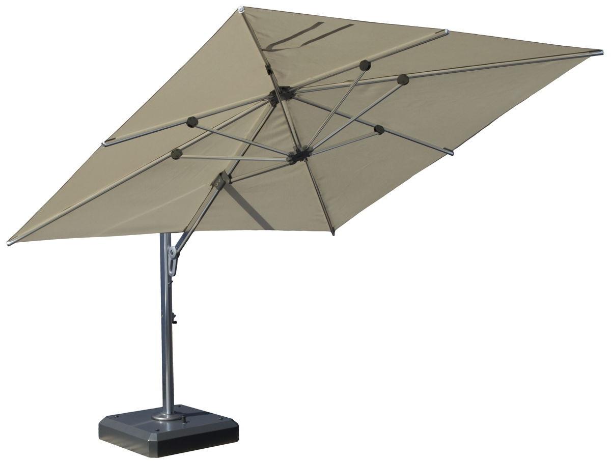 Square Cantilever Patio Umbrellas In Famous Square Cantilever Patio Umbrella – Arelisapril (View 14 of 20)