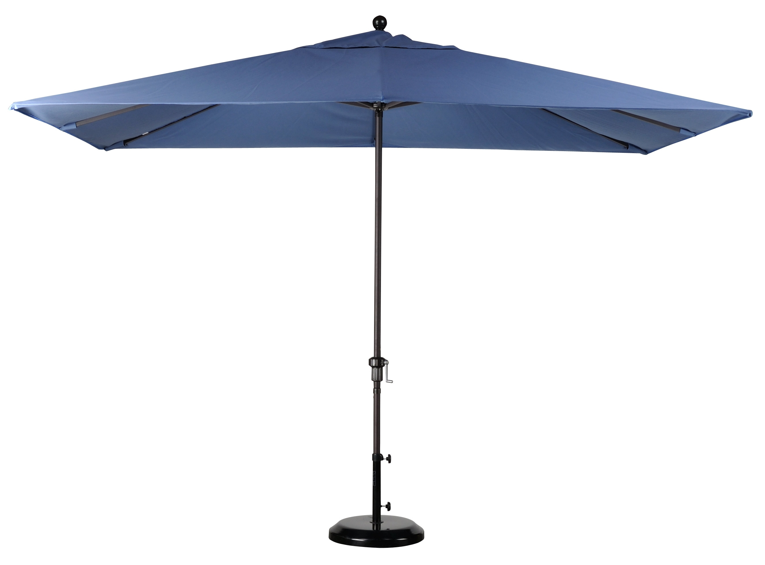 Square Sunbrella Patio Umbrellas Pertaining To Most Recently Released Best Selection Rectangular Market Umbrellas – Featuring Sunbrella (View 13 of 20)