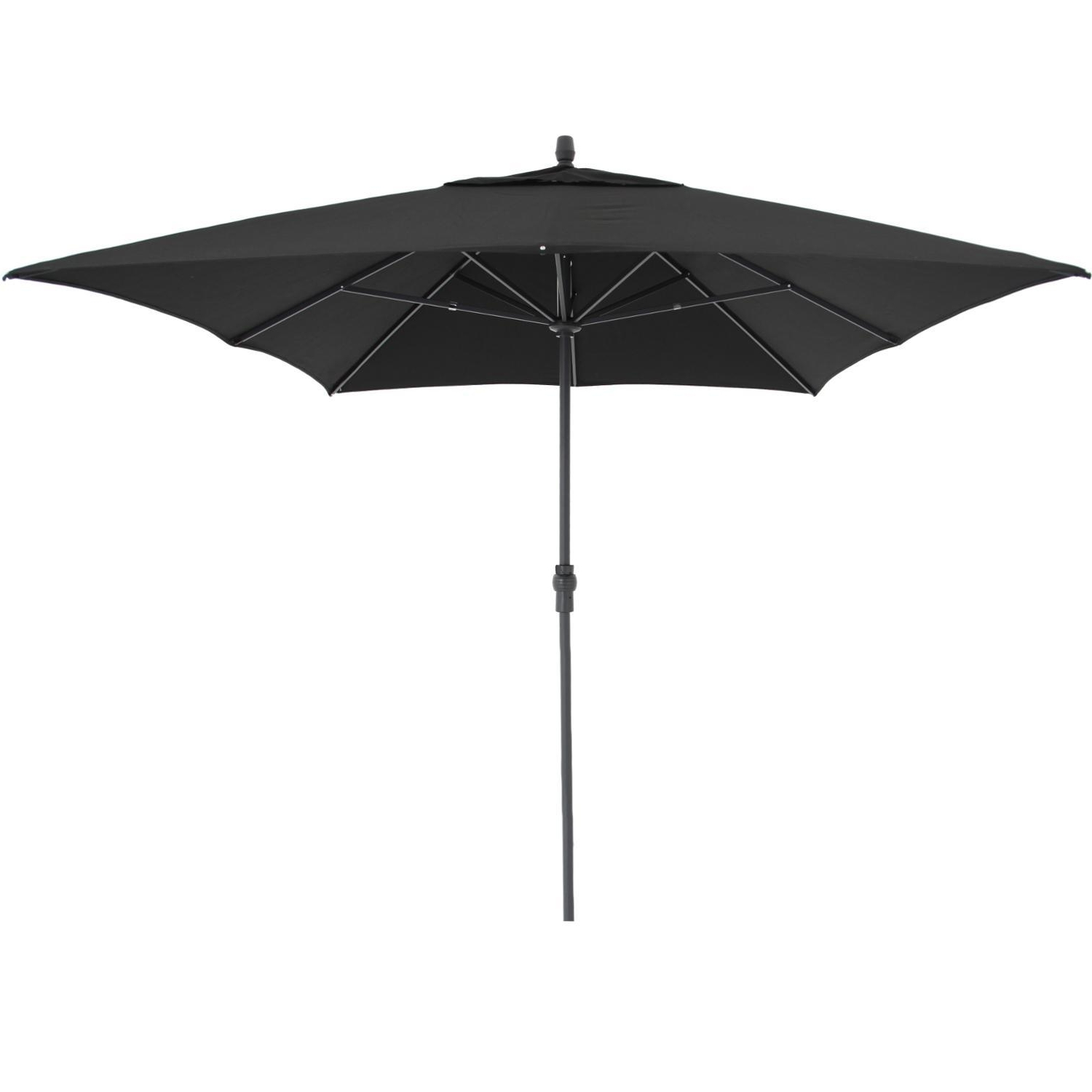 Sunbrella Black Patio Umbrellas Intended For Newest Treasure Garden 8 Ft. X 11 Ft (View 13 of 20)
