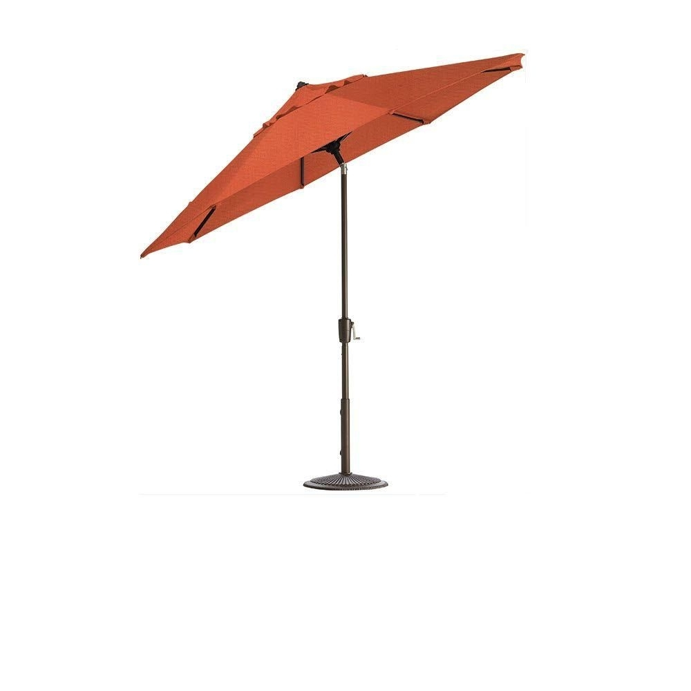 Sunbrella Outdoor Patio Umbrellas Throughout Best And Newest Home Decorators Collection 6 Ft (View 14 of 20)