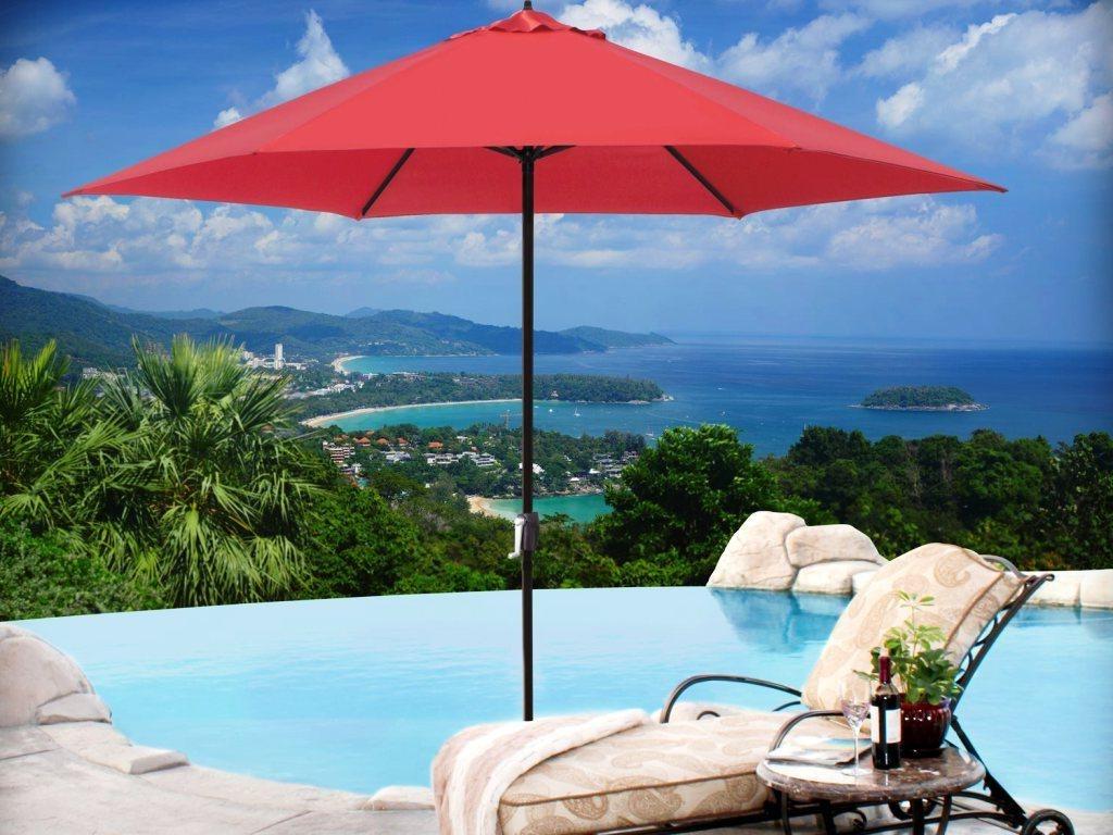 Sunbrella Patio Umbrellas : Custom Commercial Patio Umbrellas With For Well Liked Custom Sunbrella Patio Umbrellas (View 17 of 20)