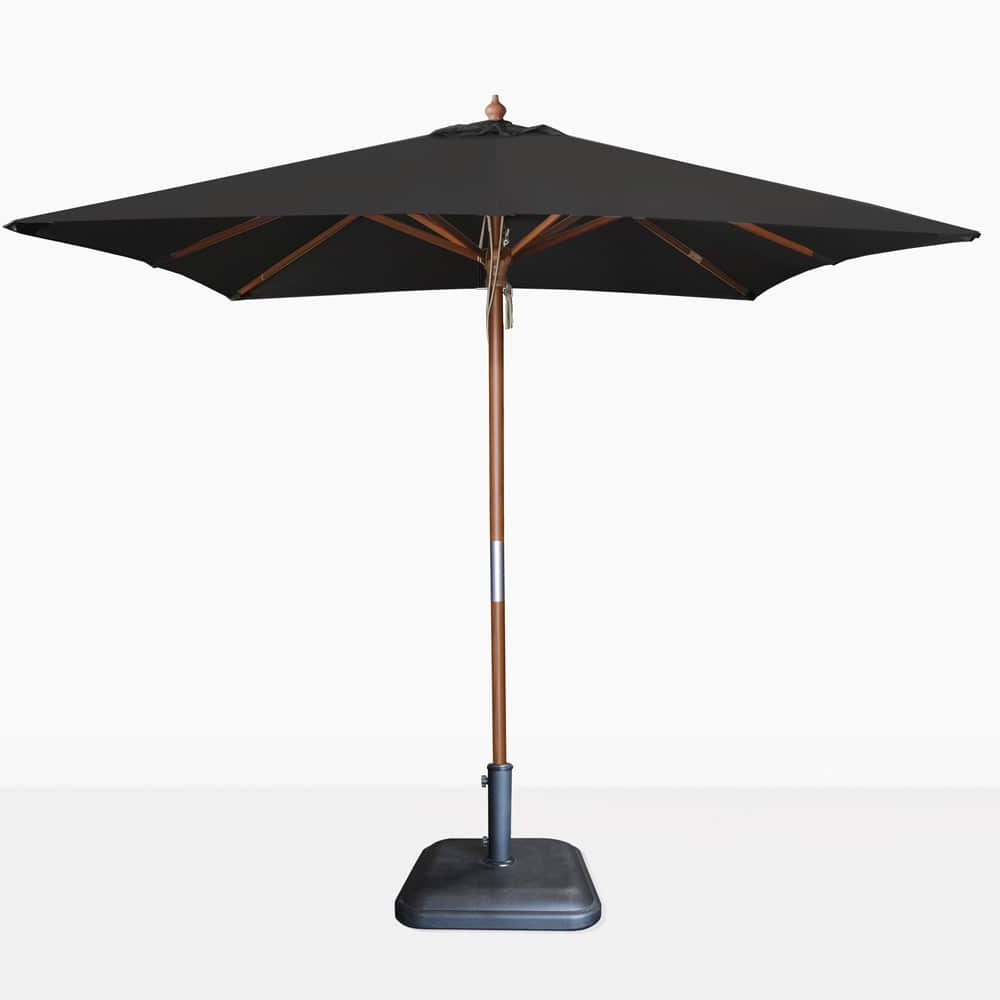 Teak Warehouse In Best And Newest Sunbrella Teak Umbrellas (Gallery 5 of 20)