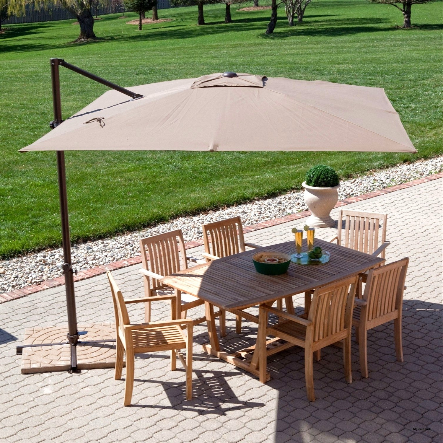 Trendy Big Lots Patio Umbrellas Intended For 25 Fresh Patio Umbrella Big Lots Design Of Coral Coast 8 X 11 Ft (View 13 of 20)