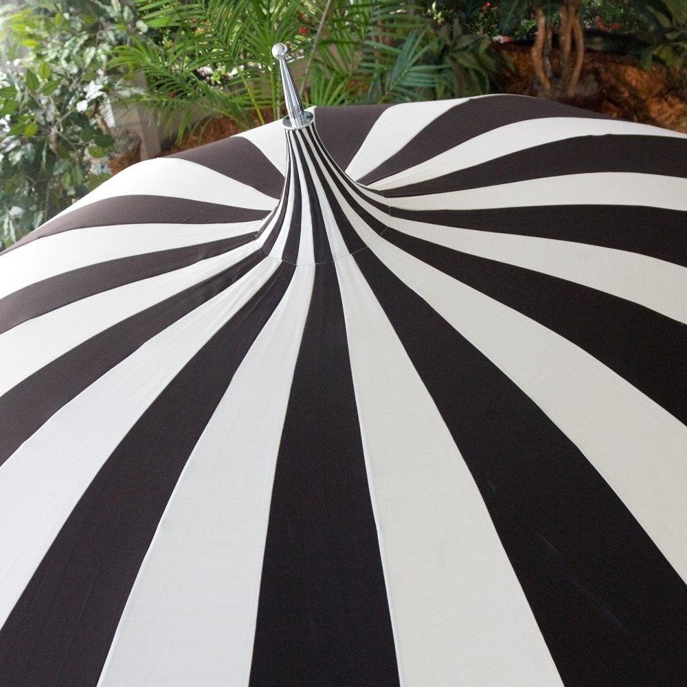 Trendy Custom Sunbrella Patio Umbrellas Intended For California Umbrella Pagoda 8.5 Ft (View 15 of 20)