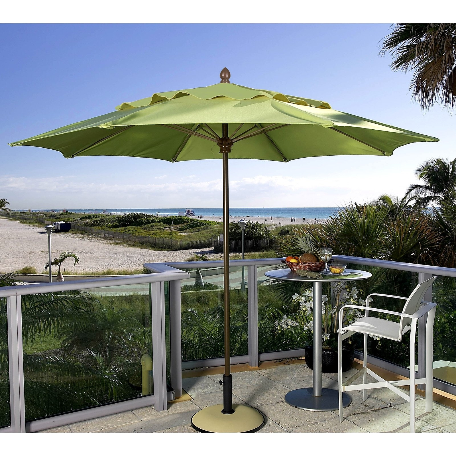 Trendy Oversized Patio Umbrellas With Regard To Small Patio Umbrellas Sale (View 13 of 20)
