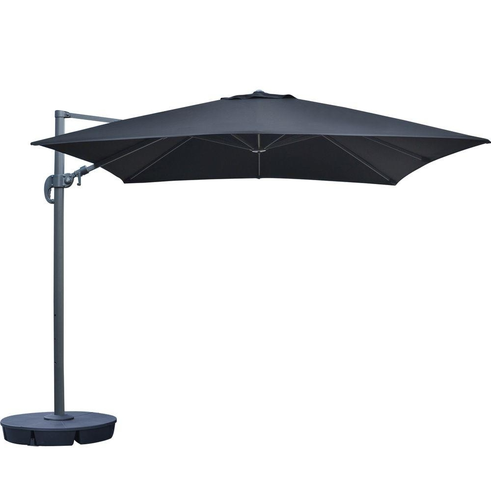 Trendy Square Sunbrella Patio Umbrellas Intended For Island Umbrella Santorini Ii 10 Ft (View 18 of 20)
