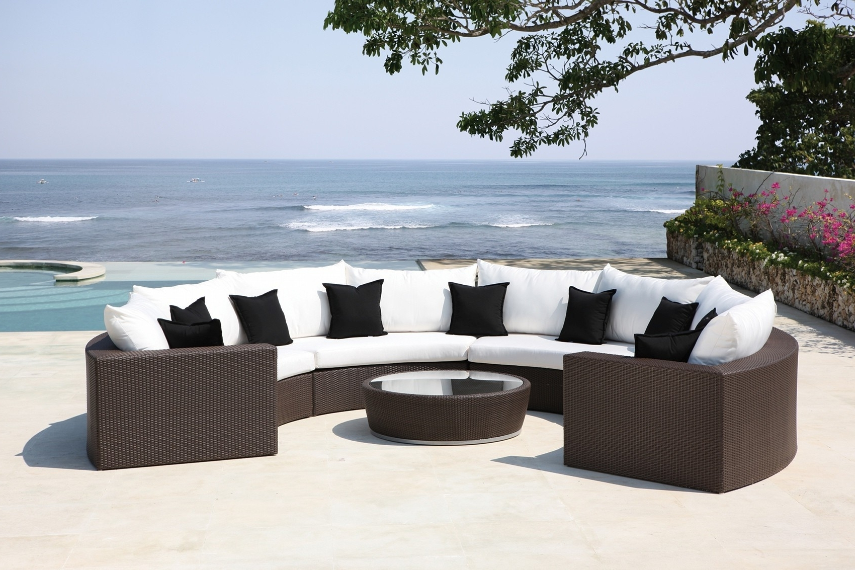 Trendy Upscale Patio Umbrellas Intended For Patio: Cool Luxury Patio Furniture Best Outdoor Furniture, High End (View 13 of 20)