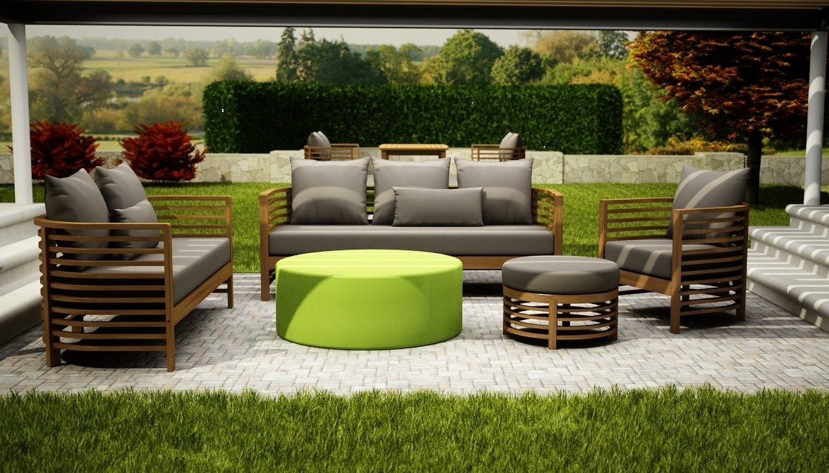 Upscale Patio Umbrellas With Most Up To Date Teak Patio Furniture Vs Eucalyptus — Life On The Move (Gallery 1 of 20)