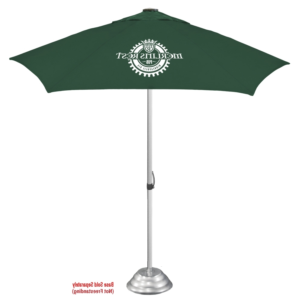 Vented Patio Umbrellas With Regard To Most Popular The Vented Cafe Market Umbrella (View 18 of 20)