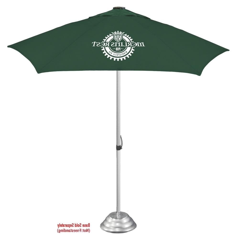 Vented Patio Umbrellas With Regard To Most Popular The Vented Cafe Market Umbrella (View 18 of 20)
