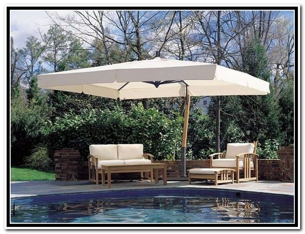 Walmart Umbrellas Patio With Regard To 2019 Impressive Patio Umbrellas Clearance In Offset Dtavares Com Outdoor (View 18 of 20)