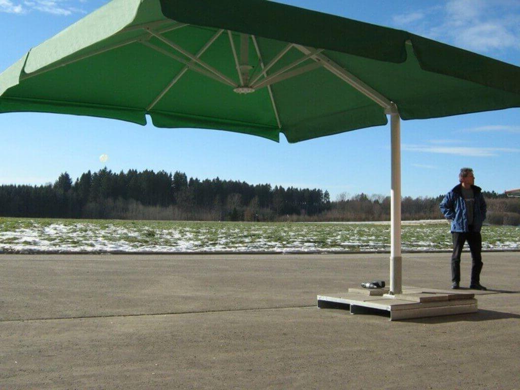 Well Known 57 Patio Umbrella 11, Galtech 11 Ft Aluminum Cantilever Patio Regarding 11 Foot Patio Umbrellas (View 7 of 20)