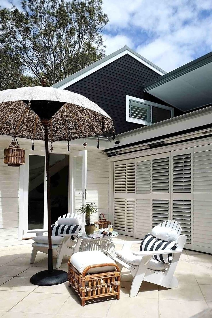Well Known Coastal Style: Exotic Outdoor Umbrellas Pertaining To Exotic Patio Umbrellas (View 17 of 20)