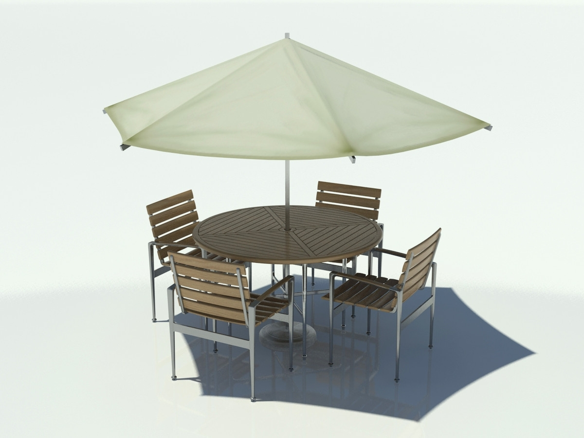Well Known Collection In Umbrella For Patio Table Outdoor Table Chair Umbrella With Patio Table And Chairs With Umbrellas (View 19 of 20)