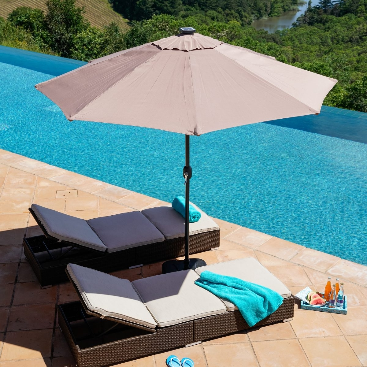 Well Known Extended Patio Umbrellas Throughout How To Choose A Patio Umbrella (View 20 of 20)