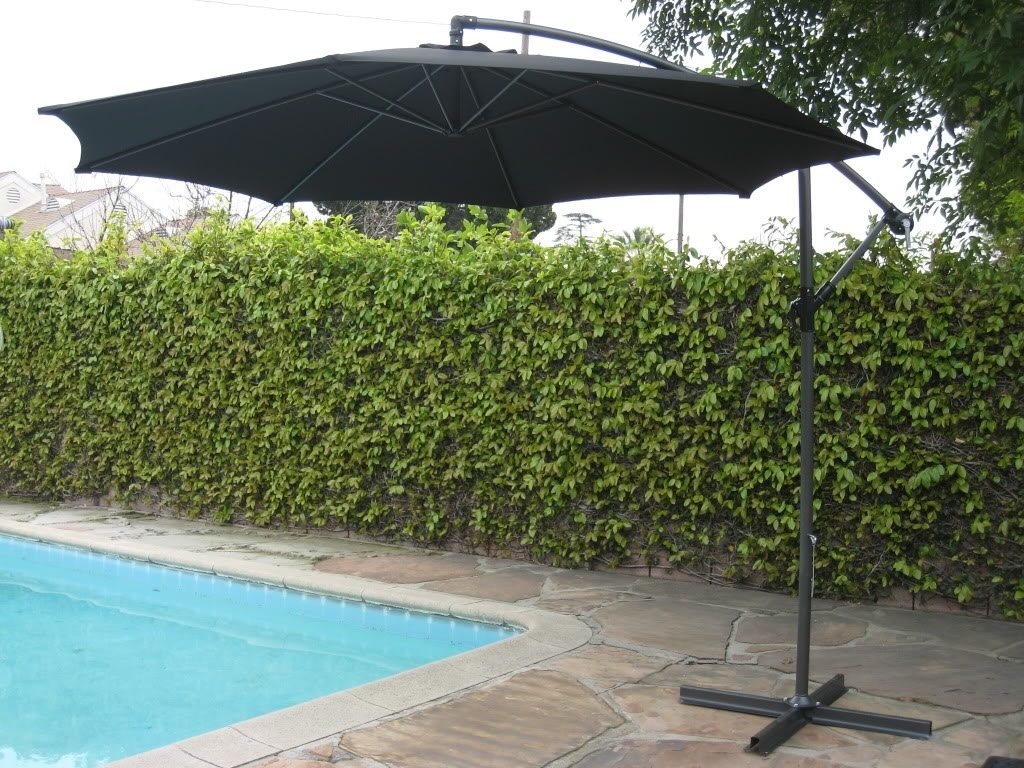Well Known Free Standing Patio Umbrellas For Freestanding Patio Umbrella For Pool — Farmhouse Design And (View 20 of 20)