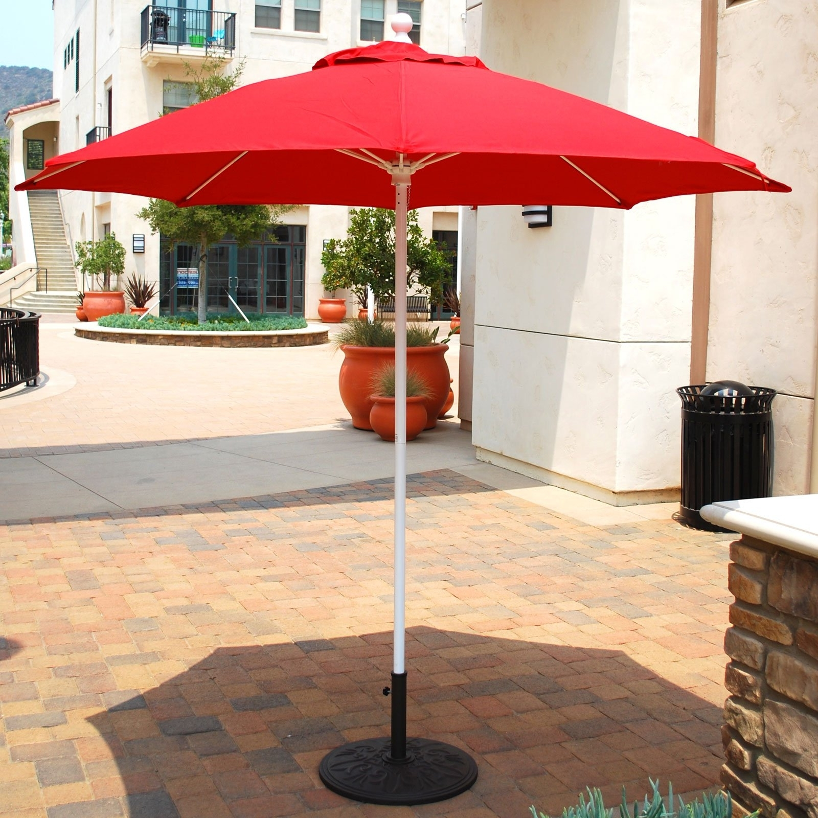 Well Known Furniture: Patio Umbrellas Home Depot Bathroom Light Christmas Throughout Cheap Patio Umbrellas (View 18 of 20)