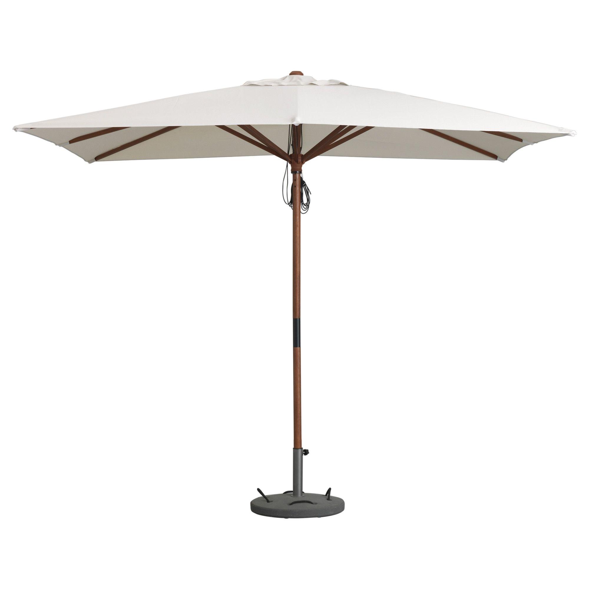 Well Known Långholmen / Lökö Umbrella With Base – Ikea (View 12 of 20)