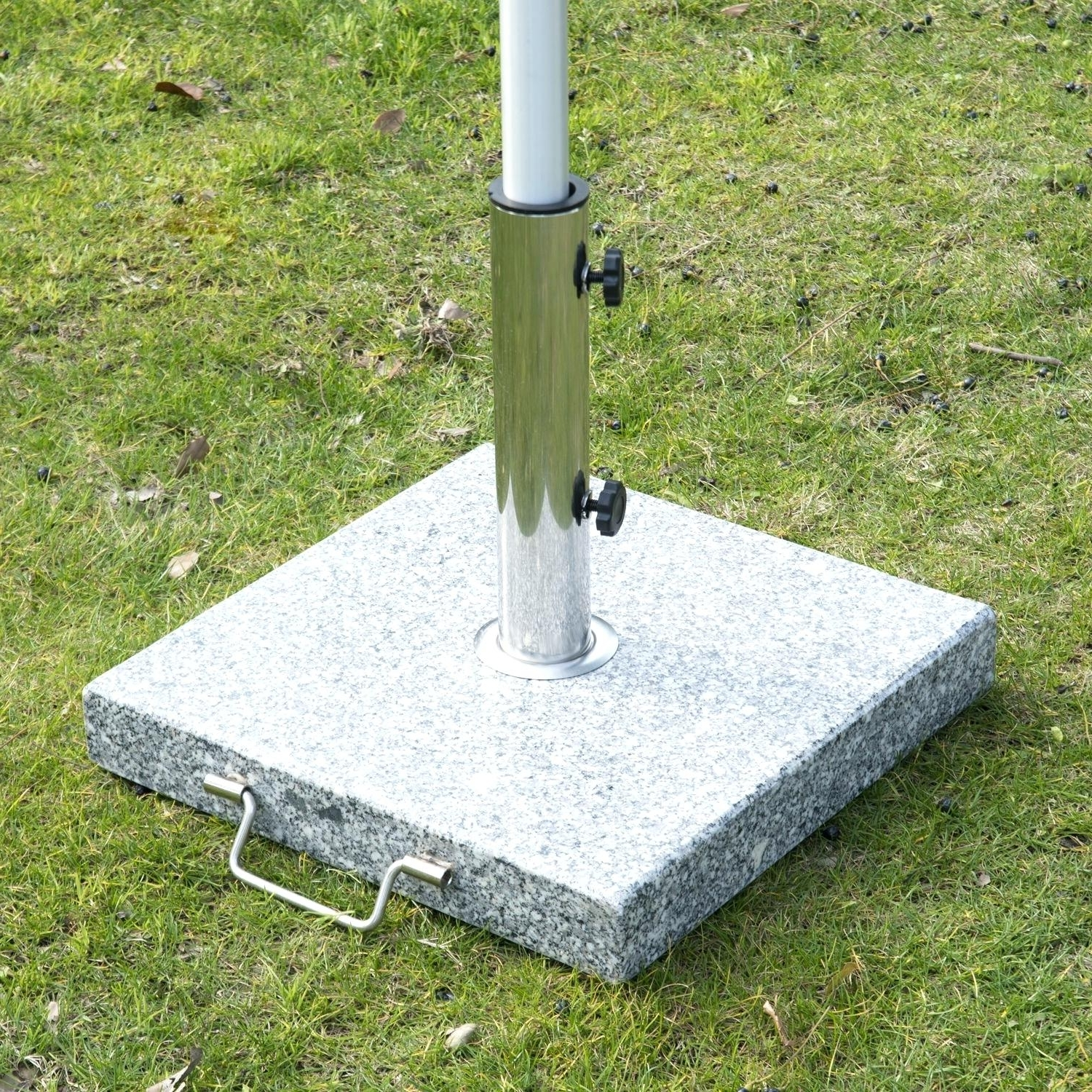 Well Known Patio Umbrella Stand Outdoor Weighted Base Table Canada Throughout Patio Umbrella Stand Side Tables (View 13 of 20)